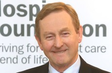 Enda goes on local radio to confirm he's calling the election tomorrow