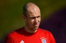 Robben takes aim at Bayern player leaking information to media