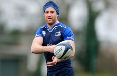 Luke Fitzgerald staying positive despite another injury setback