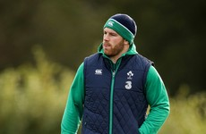 Sean O'Brien sits out Ireland training as Wales clash looms