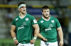 Experience in the front row, first taste for the rest of Ireland under 20s