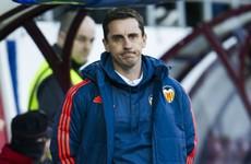 Under-fire Neville won't resign after Barcelona thrashing