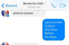 This text message exchange sums up trying to explain addresses in rural Ireland