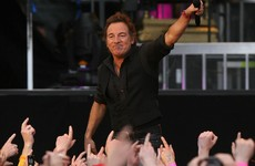 Sadly, Bruce Springsteen won't be the half-time entertainment for the Leinster quarter-finals