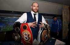 Tyson Fury: Sheikh bid to host Klitschko rematch for 120 people on his private yacht