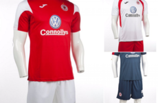 Sligo Rovers unveil 3 new Joma kits while defender Keane retires