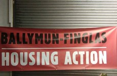 """I don't eat, I feel sick constantly"": Protest held by homeless mothers in Ballymun"