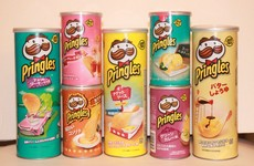 This man's birthday present will turn every Pringles fan green with envy