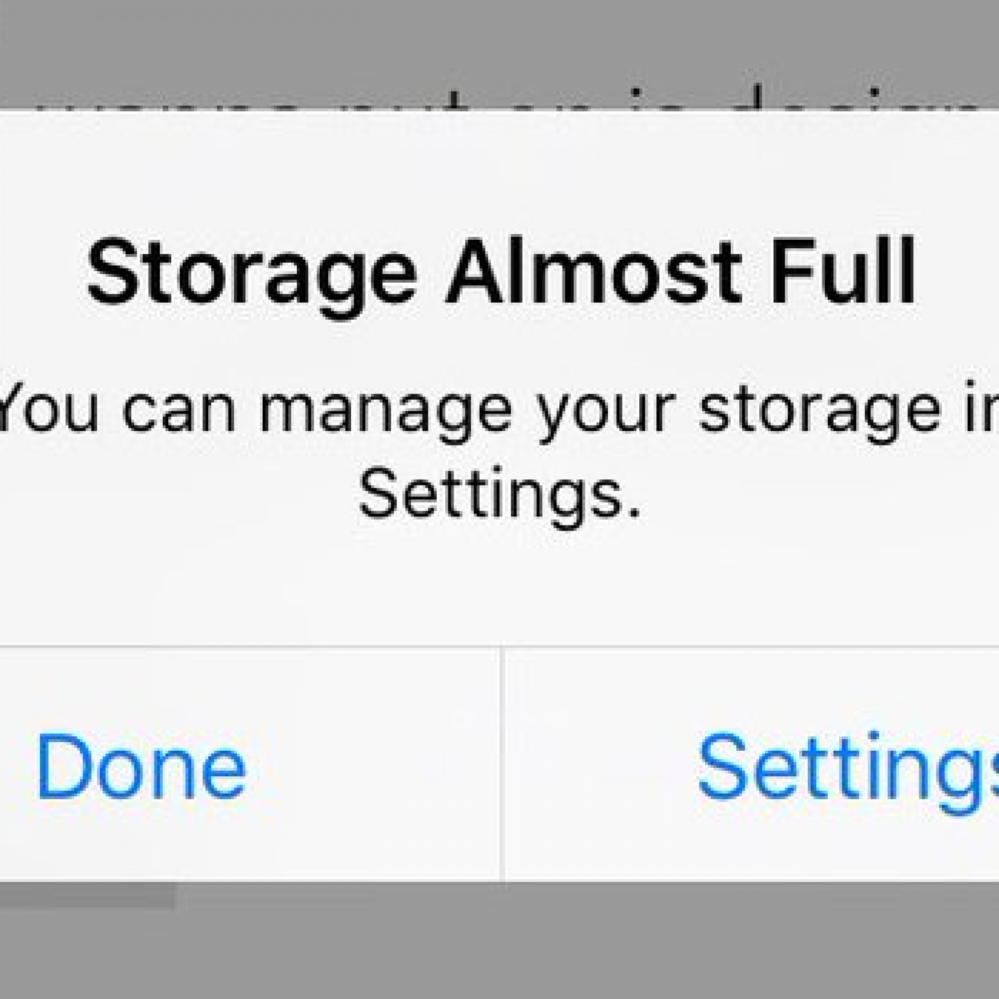 This pop-up is the single worst thing about owning an iPhone