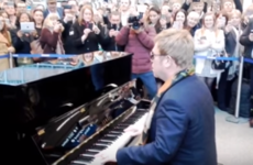 Take a break and watch Elton John performing in a tube station