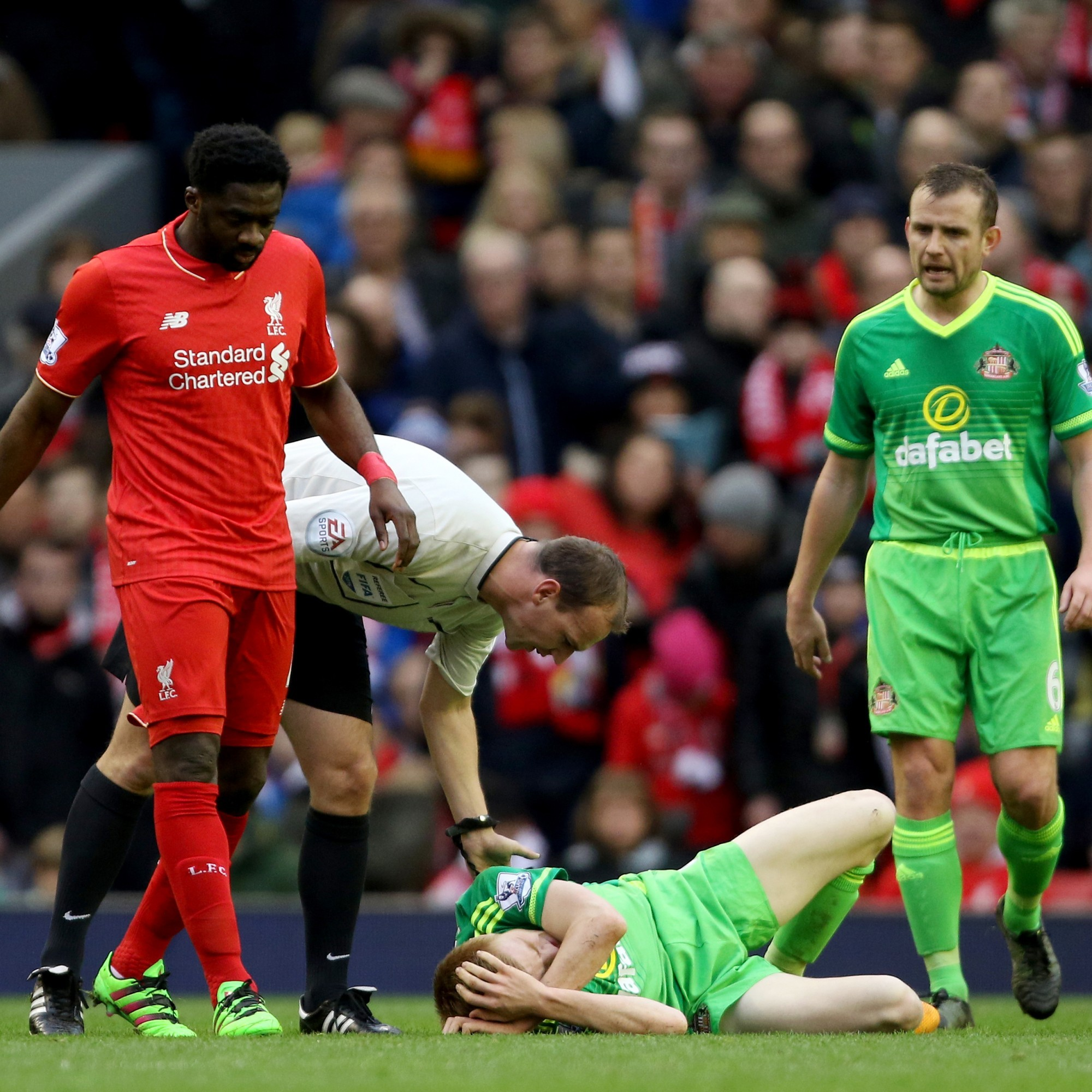 As it happened: Liverpool v Sunderland, Premier League