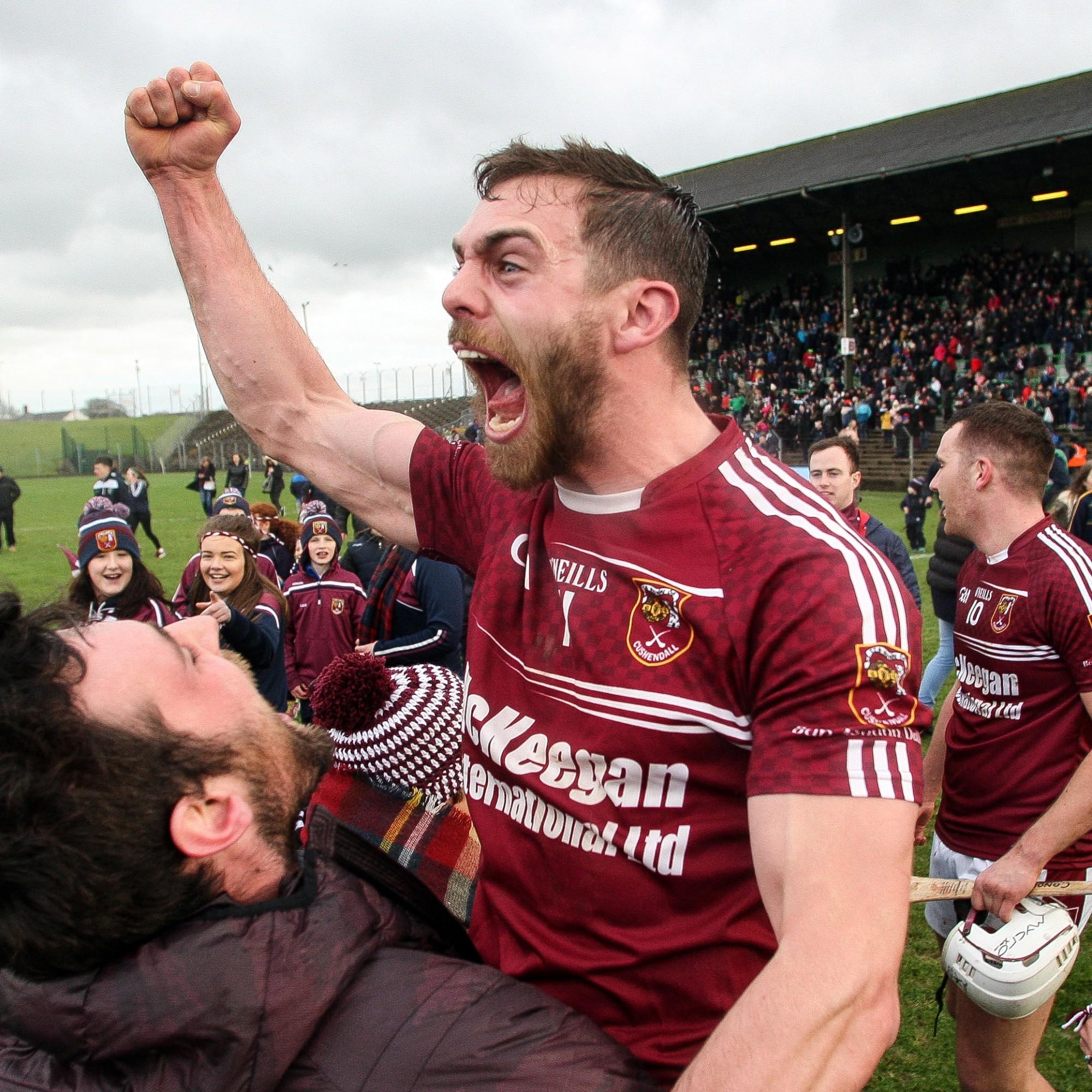 Antrim's Cushendall shock Galway's Sarsfields to reach All-Ireland club hurling final
