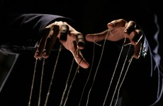 Two puppeteers have been arrested for 'glorifying terrorism'