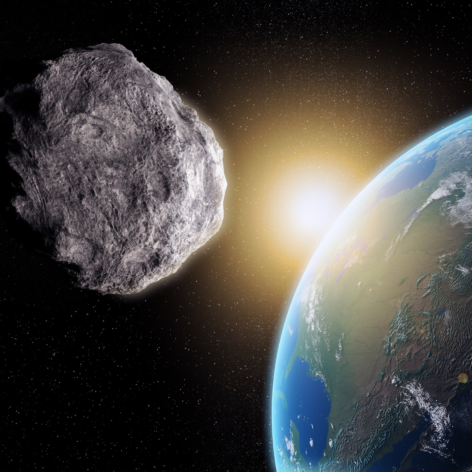 An asteroid is going to swoop uncomfortably close to Earth