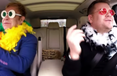 Take a break and watch Elton John join James Corden for some excellent carpool karaoke