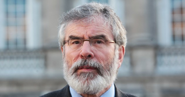 The TrailFix: Another tough week for Gerry Adams – but will it matter?