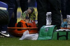 Keiren Westwood suffers suspected concussion after nasty collision with team-mate