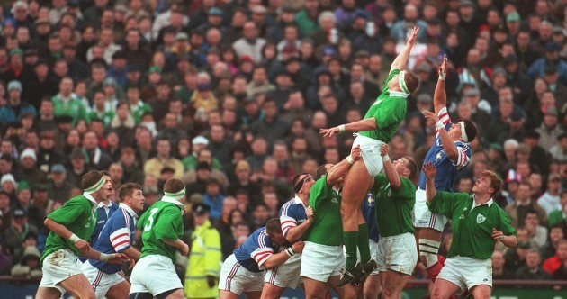 QUIZ: Can you recognise these players from Ireland-France 90s rugby games?