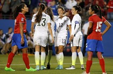 US Women's star Christen Press conjured an outrageous first touch before scoring last night