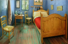 You can rent 'Van Gogh's bedroom' on Airbnb for $10