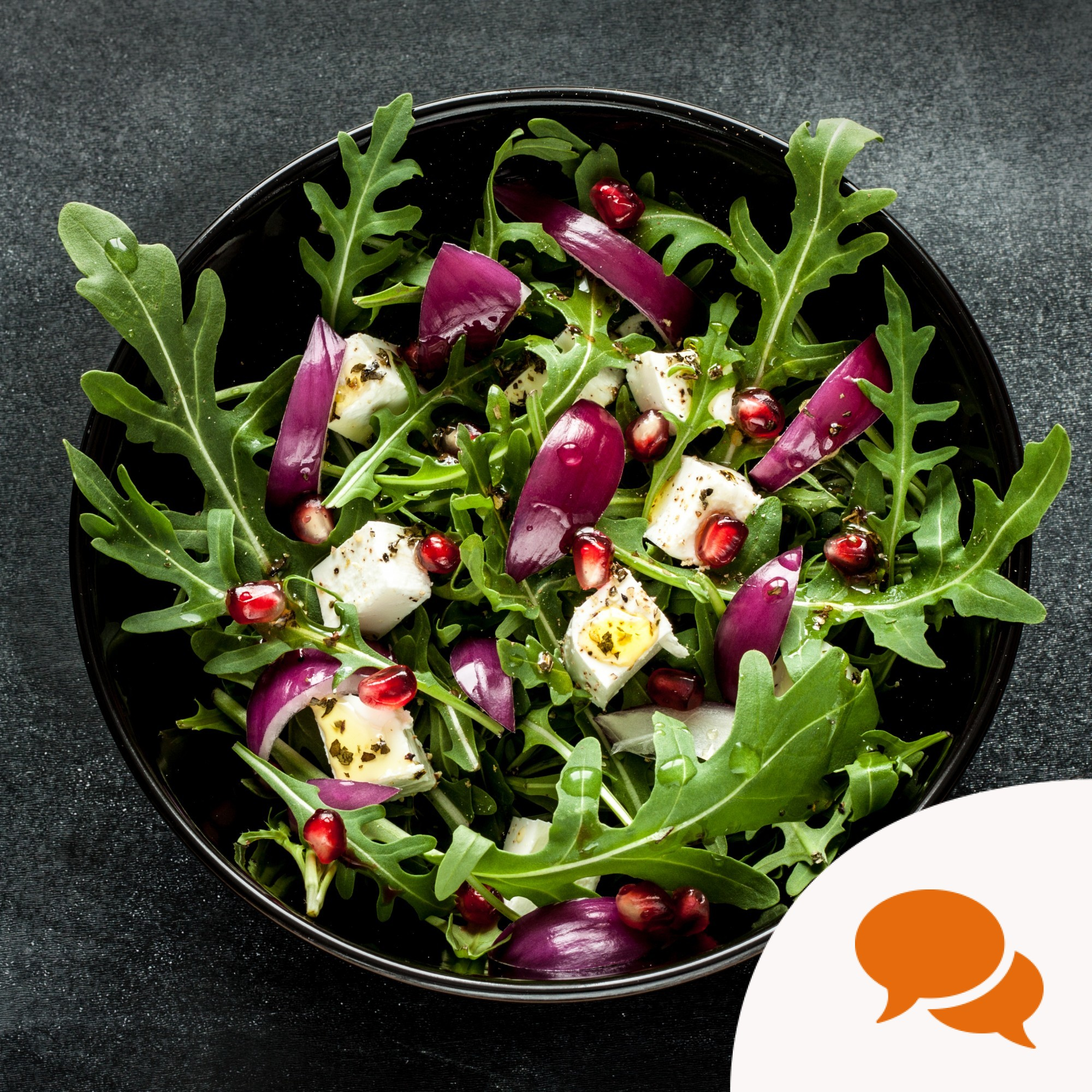 Rocket's peppery taste is perfect for any salad