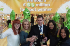 €66 million winning ticket sold in Carlow shopping centre