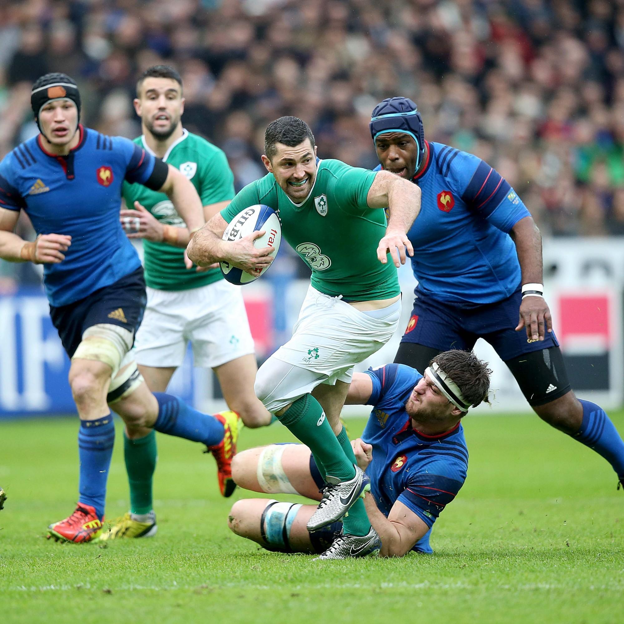 Les Bleus edge brutal Parisian battle with Schmidt's beaten Ireland