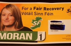 Typo sees Sinn Féin election candidate listed as councillor