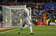 Ronaldo double leads 10-man Real Madrid to victory over gutsy Athletic Bilbao