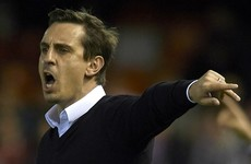 Relief for Gary Neville as he finally gets first La Liga victory on 10th attempt