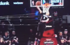 The final round of this year's NBA All-Star Slam Dunk contest was seriously entertaining