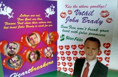 Sinn Féin candidate woos voters with special political Valentine's card