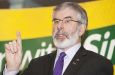 This is what Gerry Adams had to say about a former IRA member becoming minister for justice