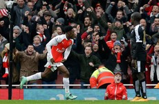 Title race blown wide open by Welbeck's 95th-minute winner against 10-man Leicester