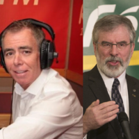Gerry Adams got a hell of a grilling on this man's radio show this morning