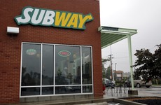 Newborn baby found in the toilet of a Subway restaurant