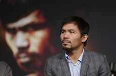 Manny Pacquiao apologises after comments that gay couples are 'worse than animals'