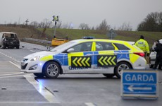 Garda hospitalised after being 'dragged along road' at checkpoint