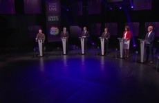Nearly half of everyone watching TV last night tuned into RTÉ Leaders' Debate