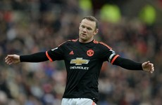 Rooney facing six weeks on sidelines with knee problem