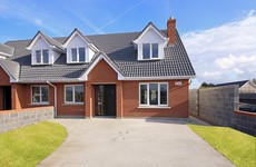 There are 12 bungalows for sale in this cosy Kildare development