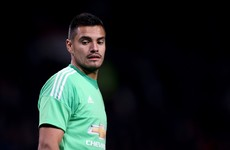 Sergio Romero replaces the injured de Gea and produces a string of superb saves