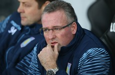 Lambert was 'delighted' when Villa gave him the boot