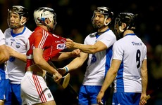 Two sent off in fiery finale as Waterford defeat Cork to go top of the table
