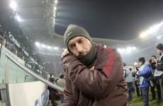 Totti row turns sour as Roma legend sent home hours before game