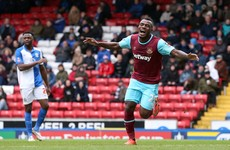 Nigerian striker bags brace in outstanding first start for West Ham