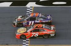 Denny Hamlin wins closest ever Daytona 500 by just 0.01 seconds