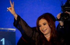 Cristina Fernandez wins landslide re-election in Argentina