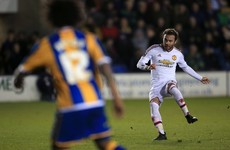 Just how offside was Juan Mata's offside goal against Shrewsbury?