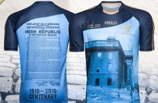 Now there's a Dublin version of that 1916 commemorative jersey for all you true blue Easter Rising fans